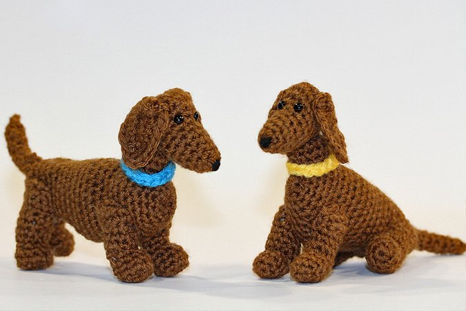 h keln amigurumi dackel hund h keln. Black Bedroom Furniture Sets. Home Design Ideas