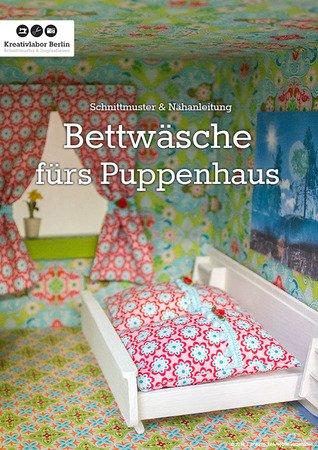 gratis Puppenhaus-Deko nähen - Bettzeug nähen
