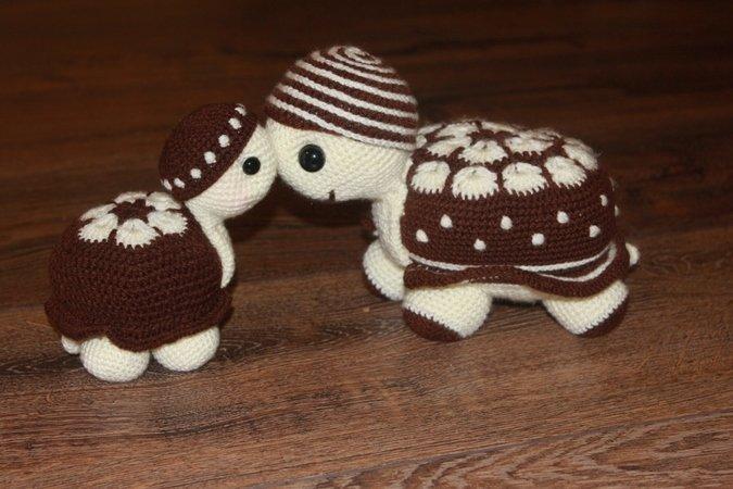 Schildkröten selber häkeln // zwei Designs