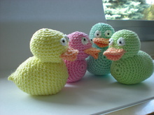 Tutorial Crochet Little Ducks