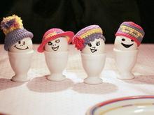 Eierwärmer Häkeln 4 Motive Für Eierwärmer