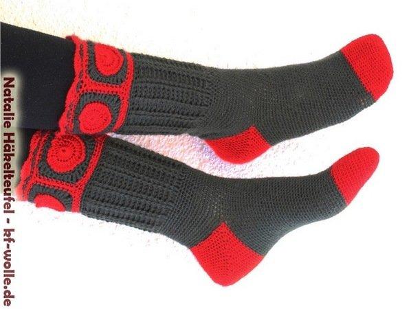 Socken Selber Häkeln Super Für Den Winter