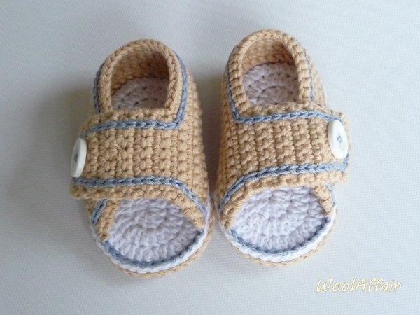 Babyschuhe Häkeln Baby Sommer Sandalen