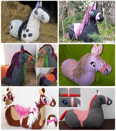 Pferd nähen // Reitpferd nähen // DIY Pferd