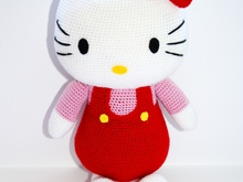 Crochet Hello Kitty pattern