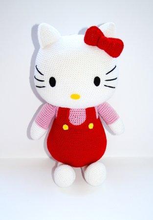 9ed9480bd Crochet Hello Kitty pattern