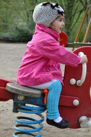 gratis Legwarmer häkeln // Kinder-Beinstulpen