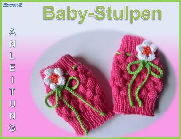 Baby Stulpen Strickanleitung