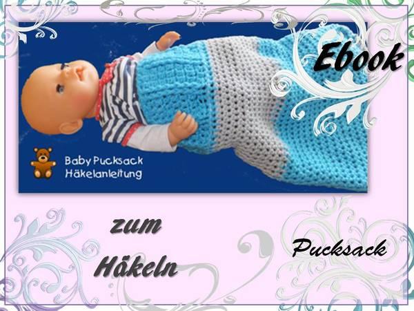 Pucksack Häkeln Baby Wärmen Daheimunterwegs