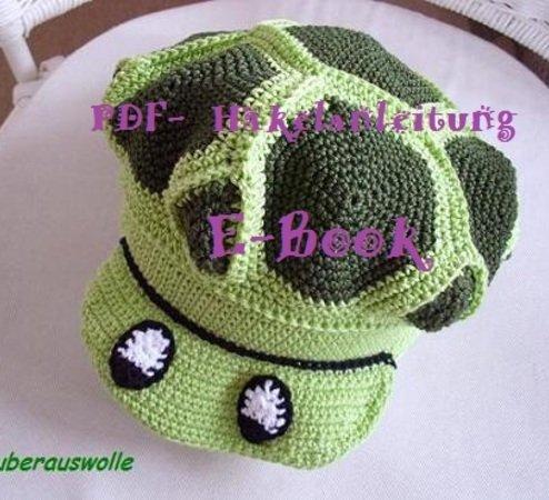 Schild Mütze Schildkröten Style Selber Häkeln