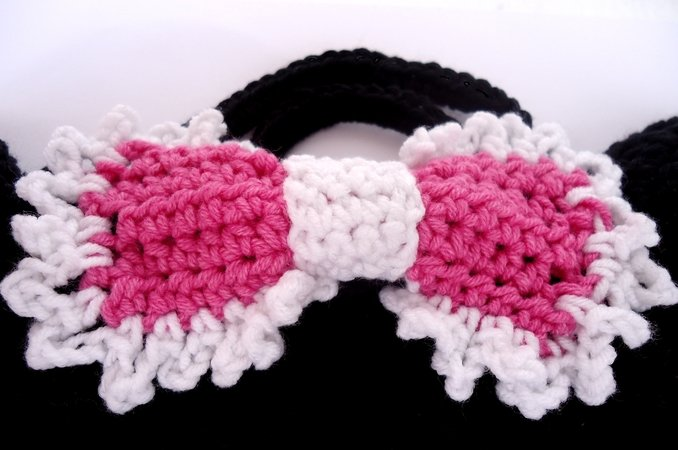Crochet Pattern Purse Miss Bow Mouse