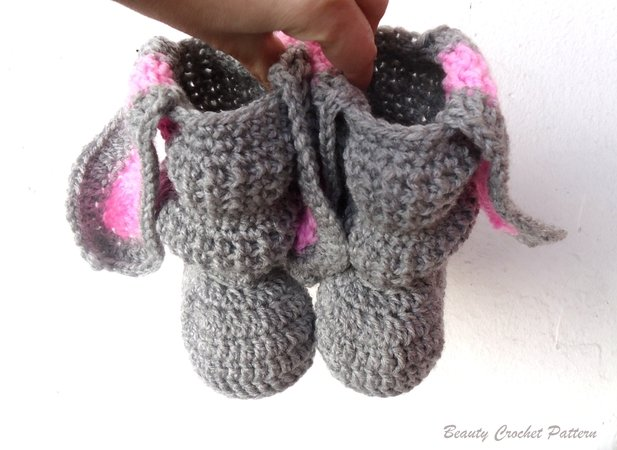 E-book Baby Bunny Rabbit Boots