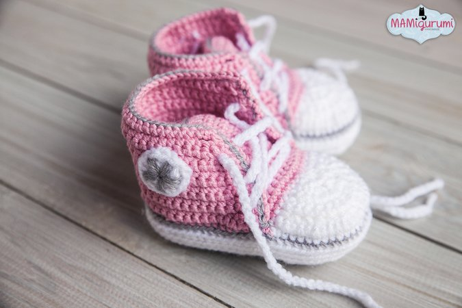 Babyschuhe Turnschuhe Baby Häkelanleitung E Book uPXZkOi
