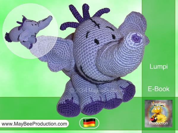 elefant h keln amigurumi elefant h keln. Black Bedroom Furniture Sets. Home Design Ideas