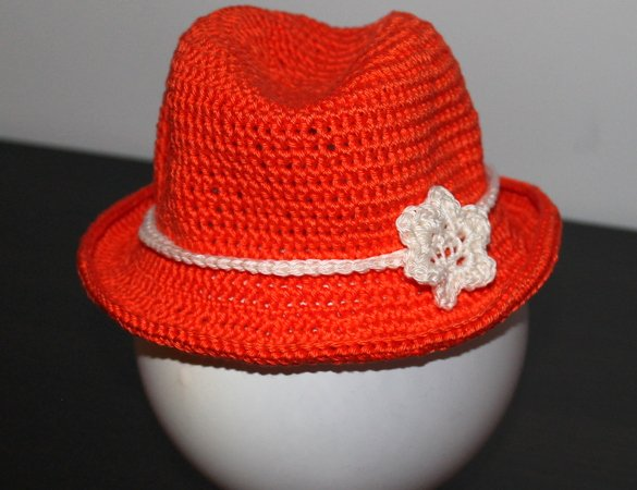 Häkelanleitung Sommerhut // Cowboy-Hut häkeln