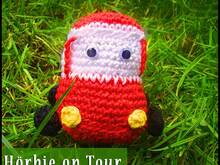 Amigurumi Häkelanleitung Hörbie on Tour