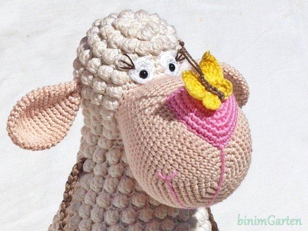 Schaf häkeln - Amigurumi Häkelanleitung - YouTube | 450x600