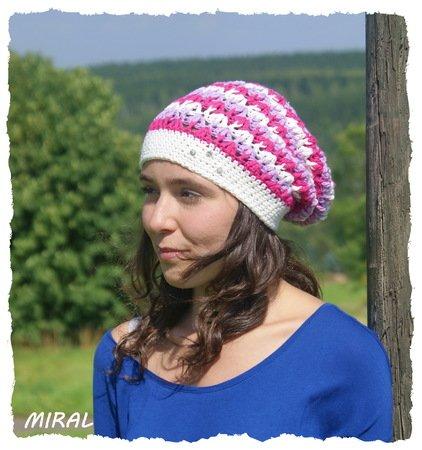 Mütze Häkeln Slouchy Beanie Für Den Sommer