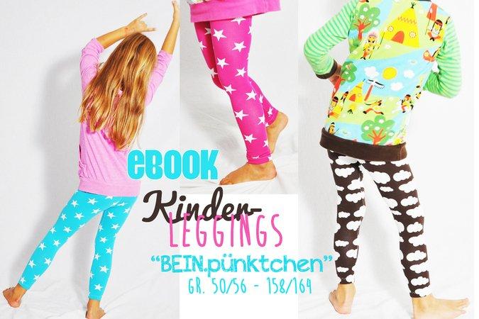 Schnittmuster Kinder-Leggings nähen // DIY