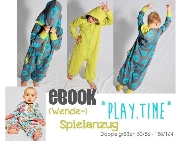 "E-Book #56 - Wende-Spielanzug ""play.time"""