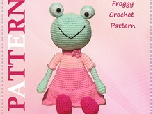 Froggy Crochet Pattern
