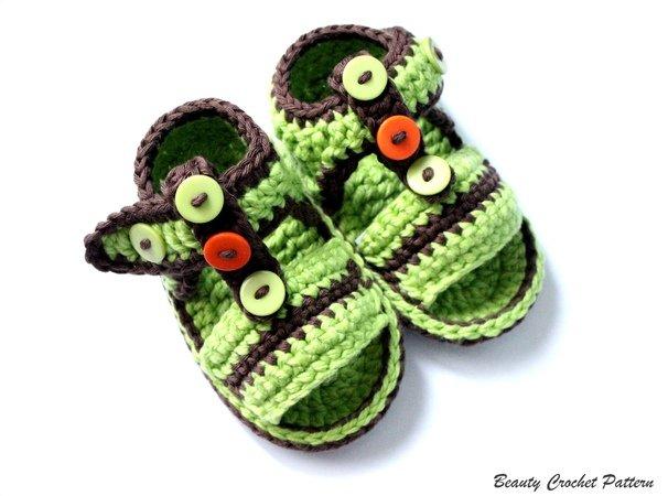 Baby Sandalen Selber Häkeln Diy Babyschuhe