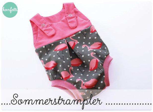 Babystrampler nähen // super für den Sommer