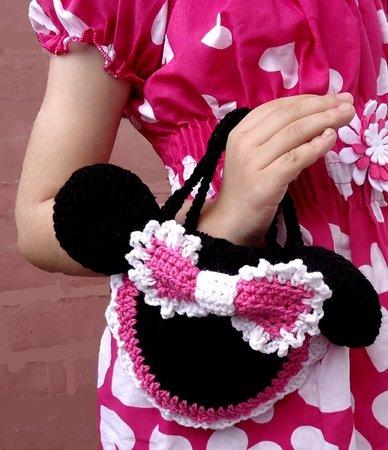 E-Book Minnie Mouse Häkelanleitung Tasche