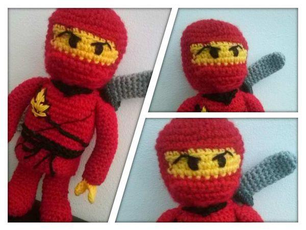 Amigurumi Ninja : Ninja hakeln // Amigurumi Ninja-Figur hakeln
