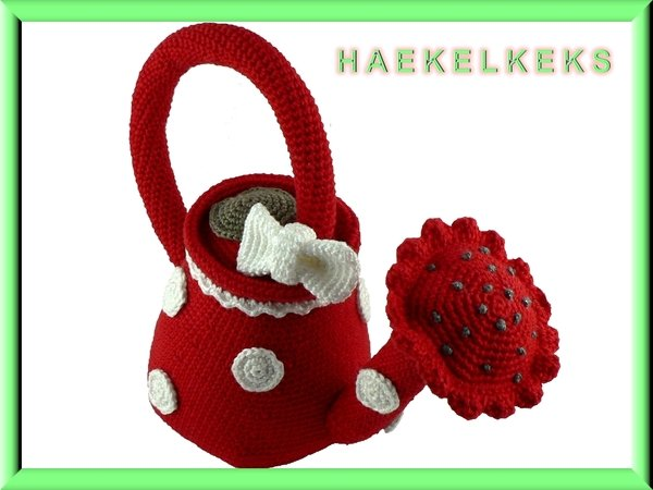 Watering can -- Crochet Pattern by Haekelkeks®