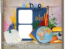 Fotobuchseite - Back to School 2