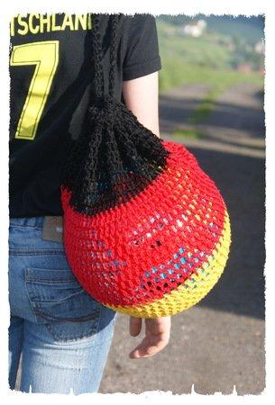 Ballnetz Häkeln Rucksack Für Ball Häkeln