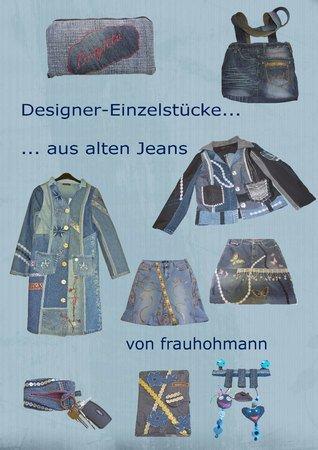 e book designer einzelst cke aus alten jeans. Black Bedroom Furniture Sets. Home Design Ideas