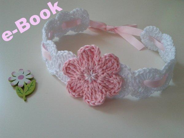 Häkelanleitung Baby-Haarband / E-Book PDF