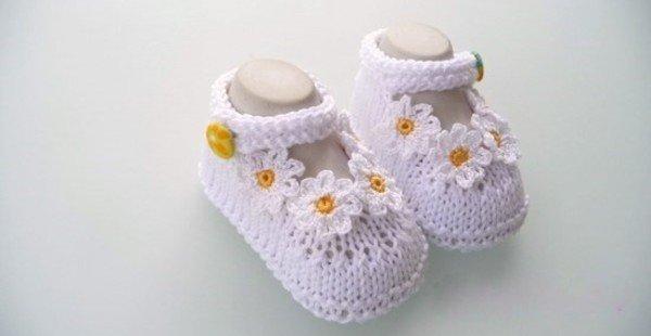 babyschuhe stricken babyschuhe h keln. Black Bedroom Furniture Sets. Home Design Ideas