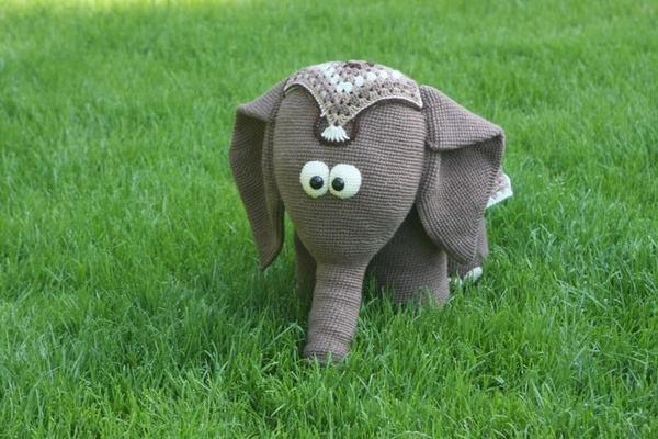 h keln diy elefant amigurumi elefant. Black Bedroom Furniture Sets. Home Design Ideas