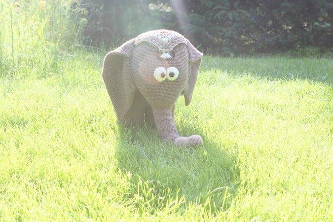 Häkeln Diy Elefant Amigurumi Elefant