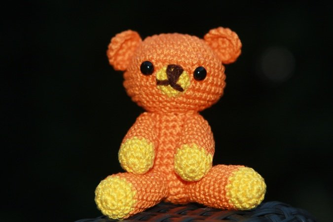 Easy Peasy Teddy Bear