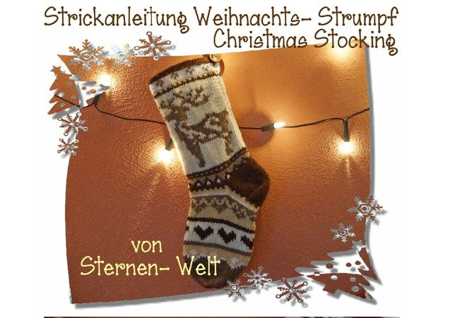 Nikolaus-Socken stricken // DIY Stockings