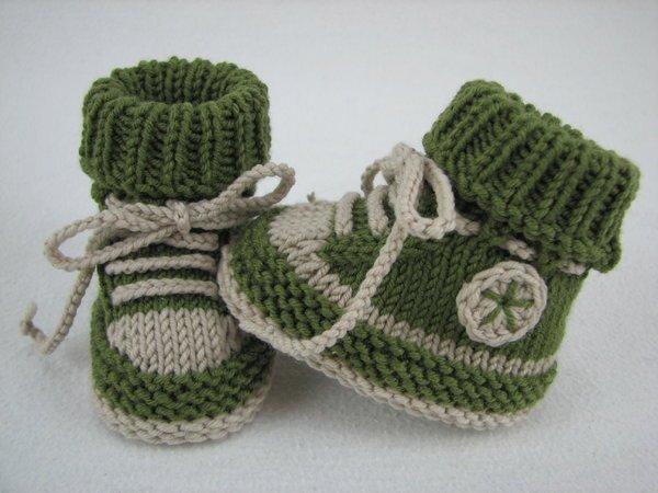 Baby Schuhe Stricken Diy Baby Turnschuhe