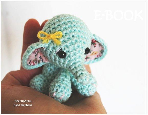 Elefant Häkeln Baby Elefant Handtellergroß