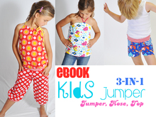E-Book # 66 - Kids Jumper 3-in-1 50/56-158/164