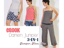 E-Book # 67 - Damen Jumper 3-in-1 XS-3XL
