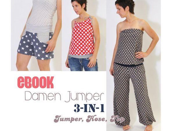 E-Book # 67 - Damen Jumper 3-in-1 XS-3XL