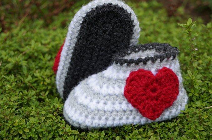 Babyschuhe Häkeln Anleitung Für Anfänger