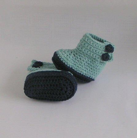 Baby-Schuhe selber häkeln–DIY-Baby-Schuhe ✓