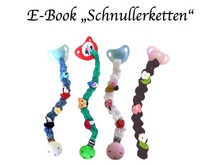 E-Book Schnullerketten, 4 Variationen