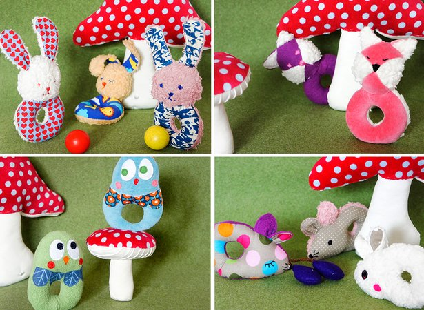 Babyspielzeug nähen ☆ DIY-Spielzeug-Rassel ☆
