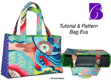 PDF E-Book tutorial and pattern bag Eva