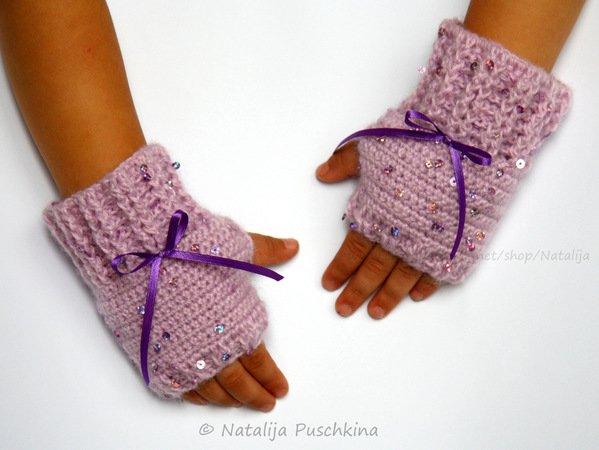 Armstulpen für Kindern häkeln – 3 Größen ✓